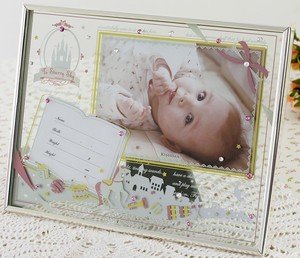 Baby Glass Frame Blue Pink