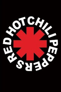 ■ポスター■610X915mm★RED HOT CHILI PEPPERS - LOGO