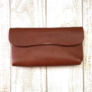 Lien Oil Leather Cover Long Wallet Wallet