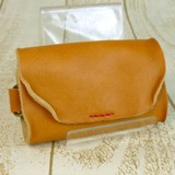 Lien Tochigi Leather Key Case wash processing