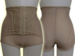 Controlling Undergarment Out Of Print Waist Waist Nipper Attached High-waisted Girdle