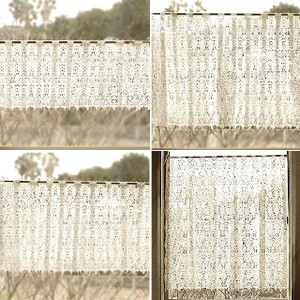 All Lace Cafe Curtain NOBLE
