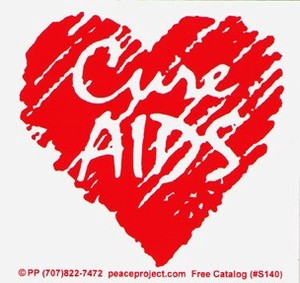 CURE AIDS 輸入アメリカン雑貨メッセージ