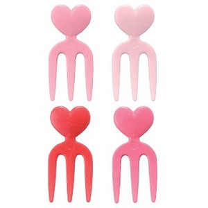 Bento (Lunch Box) Product Heart Fork Pick