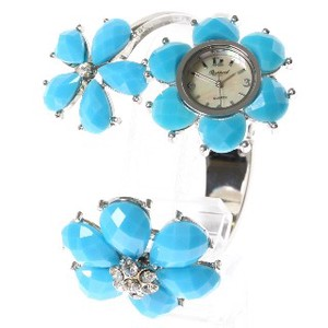 Flower Design Fashion Clock/Watch