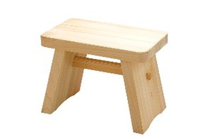 Japanese Cypress Bath Chair Made in Japan