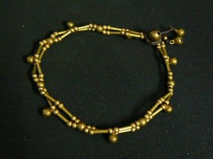 Brass Anklet Brass Double