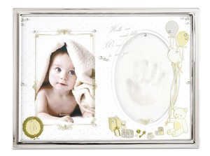 Clay Baby Photo Frame