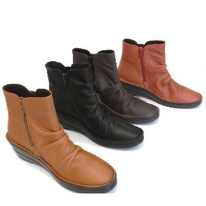 Genuine Leather useful Sole Short Boots
