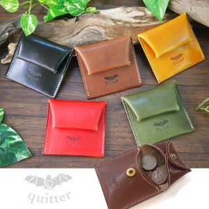 Tochigi Leather Leather Coin Case Maid Japan