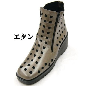 Zipper Short Boots 2018 A/W