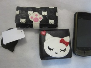 Cat Cat Paw Key Case Coin Case