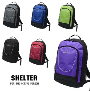 6 Colors Reflector Backpack Large capacity Unisex
