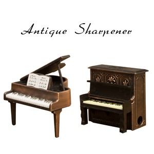 Antique Sharpener Piano Pencil Sharpener Music Instrument