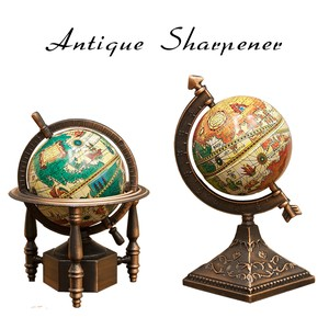 Antique Sharpener Globe Pencil Sharpener