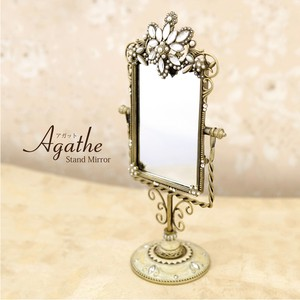 Stand Alone Mirror Lecht Jewel Flower