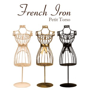 French Iron Sewing Mannequin Ornament