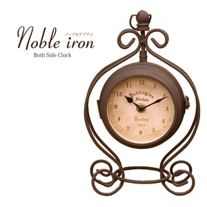 Table Clock NOBLE Iron Crown Clock