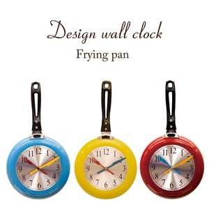 Design Wall Clock Frying Pan