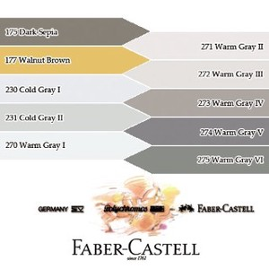 【FABER-CASTELL】ポリクロモス色鉛筆