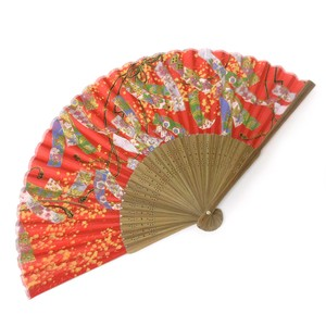 Fashion Accessory Japanese Style Silk Folding Fan Strip Of Paper