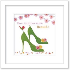 Art Collection mini/Message/Bon anniversaire beaute