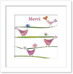 Art Collection mini/Message/Merci