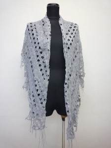 Russell Net 2 Pcs Active Large Format Triangle Knitted Stole