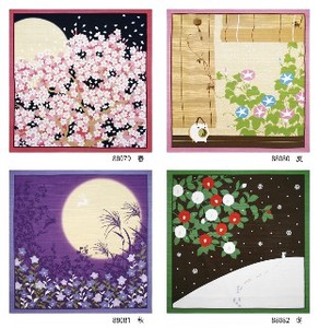 Flower Scenery Tapestry Wrapping Cloth Japanese Pattern Season