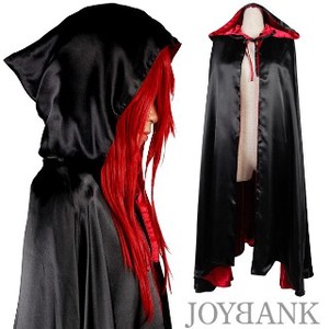 animania With Hood Gothic Long Cloak