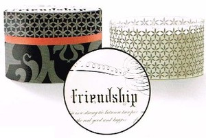 FRINGE STUDIO AVERY DOMED BOX キャンドル <FRIENDSHIP>