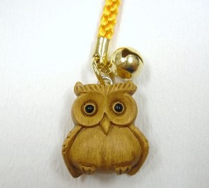 Wood Grain Owl Strap
