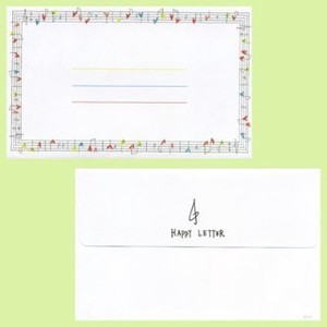 Staff Notation Musical Note Envelope