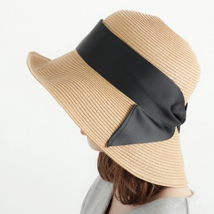 Wide Ribbon Paper Down Hat