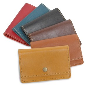 Adult Leather Stamp Business Card Case Business