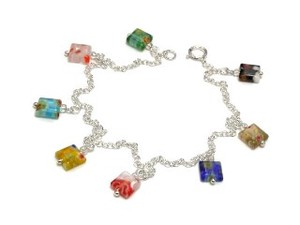 Silver 925 Anklet Beads