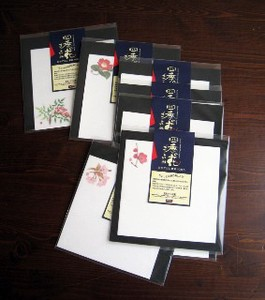 Four Seasons Flower Calender Front 10 Pcs Four Seasons Japanese Pattern
