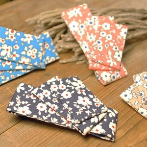 Triple Square Flower Clip 4 Colors