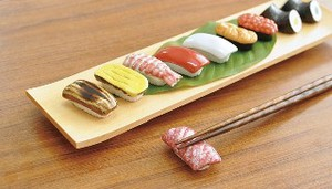Sushi Chopstick Rest Tuna 13 Types Japan Mino Ware