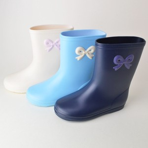 Popular Ribbon Patch Rain Boots Baby Kids Ceremony