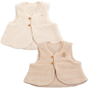 Organic Knitted Vest Baby Kids