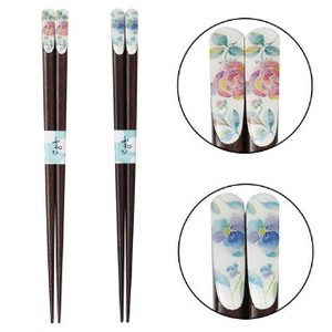 Hana Kotoba Chopstick 1Pc 2 type rose Pansy