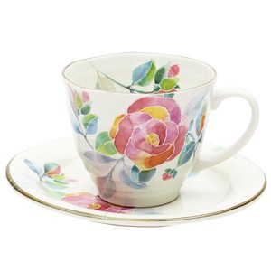 Hana Kotoba Coffee Plate rose