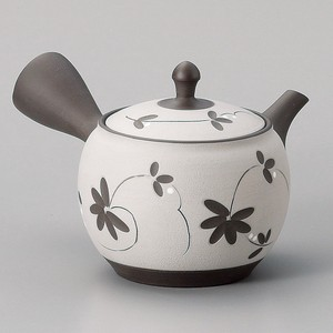 TOKONAME Ware Kiln Change Arabesque Japanese Tea Pot