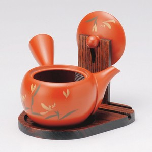 Wooden Products Plate Japanese Tea Pot Display