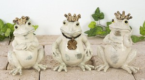 Frog Three Ornament