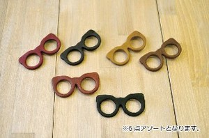 Leather Brooch Eyeglass