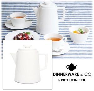 【 DINNERWARE CO.】 Piet Hein Eek Coffee Pot - new bone china