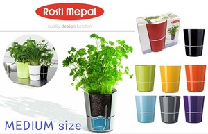 【 MEPAL】 HYDRO HERB MEDIUM size kitchen herb pot
