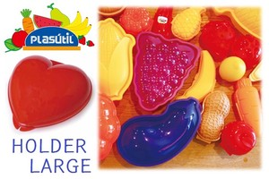 【 Plasutil Industria】 HEART HOLDER LARGE multi plastic case